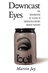 Downcast Eyes:The Denigration of Vision in Twentieth-Century French Thought