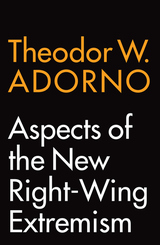 Aspects of the New Right-Wing Extremism